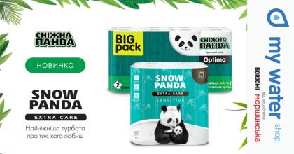 НОВИНКА Снежная Панда