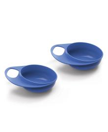 Набор глубоких тарелок Nuvita Easy Eating Blue 2шт NV8431Blue, 5350555002840