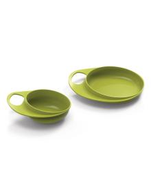 Набор тарелок Nuvita Easy Eating Lime 2шт