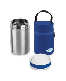 Термос для еды Nuvita Blue 500 мл с термосумкой