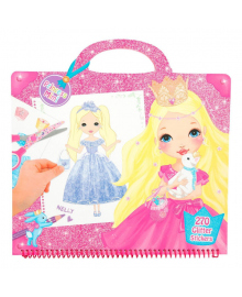 Раскраска с наклейками Princess Mimi Гламур