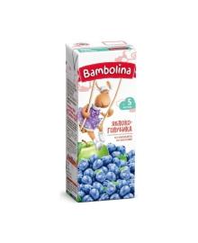 Нектар Bambolina Яблоко-голубика, 200 мл