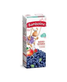 Нектар Bambolina Яблоко-черника, 200 мл