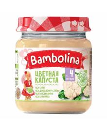 Пюре Bambolina Цветная капуста, 100 г