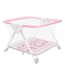 Манеж Ceba Baby Бартоломео Cats розовый W-630-069-130