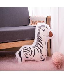Детская мягкая игрушка-подушка Berni Игривая зебра 50см (YZFE) Berni Kids