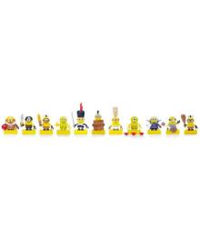 Коллекционные герои - Миньоны с аксессуарами Mega Bloks Mattel CNF46