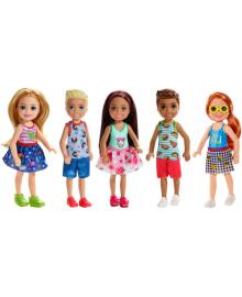 Детская кукла BARBIE Челси и друзья в асс.(7) (DWJ33)