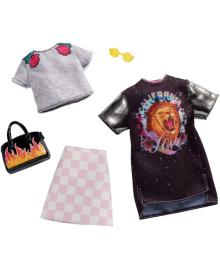 "Одежда для кукол BARBIE ""Два наряда"" (в асс.) (FYW82)"