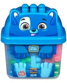 """Детский конструктор Mega Bloks в контейнере """"Зверюшка"""" (в асс.) (GCT46)"""