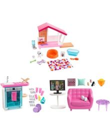 Набор мебели и аксессуаров для дома BARBIE в ас. (FXG33)