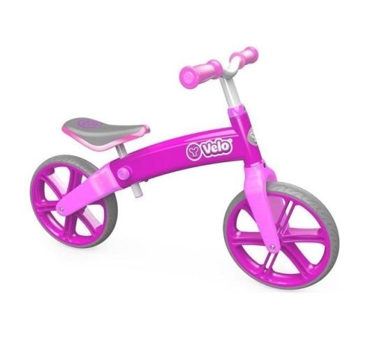 Беговел Y-Volution Velo Balance, розовый
