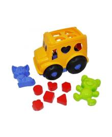 Набор для песочницы Colorplast Автобус спасочками