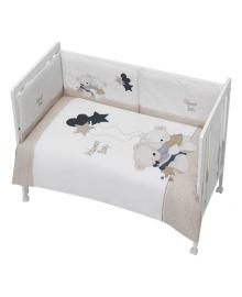 Комплект постельного белья 3 элемента Interbaby Amoroso Beige бежевый