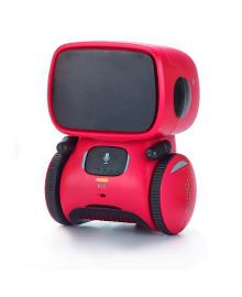 Интерактивный робот с голосовым управлением AT-Robot красный (рус)