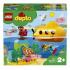 Конструктор LEGO DUPLO Town Путешествие субмарины, 24 детали (10910), 5702016680522