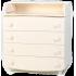 Пеленальный комод Верес 16 Гладкий фасад, слоновая кость (33.4.2.2.04), 2100081103367