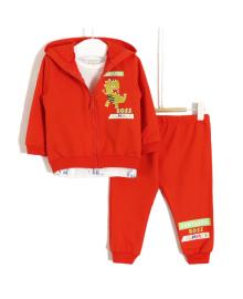 Костюм детский 3 в 1 Fantastic, оранжевый Baby Rose 6341