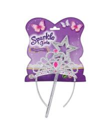 Набор Funville Sparkle Girls Диадема и волшебная палочка