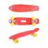 Скейтборд GO Travel (красный с желтыми колесами), 56 см LS-P2206RYS