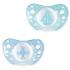 Силиконовая пустышка Chicco Physio Аir, 0-6 месяцев, голубой, 2 шт. (75030.21) 75030.21.00.00, 8058664109661