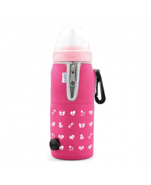 Подогреватель бутылочек для автомобиля Nuvita Pink