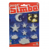 Набор Simba Светящиеся звезды, облака и месяцы 40 эл