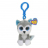 Мягкая игрушка-брелок TY Inc Хаски, 12,5 см