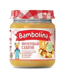 Пюре Bambolina Фруктовый салатик, 100 г