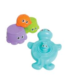 Игровой набор для ванной Playgro Черепашка с друзьями