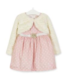Комплект для девочки 2 в 1 Горошек, розовый Baby Rose 2874