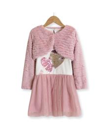 Комплект для девочки 2 в 1 See you later, розовый Baby Rose 7468