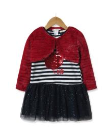 Комплект для девочки 2 в 1 All need you is love, красный Baby Rose 7462