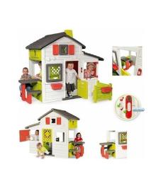 Будиночок для друзів, з горищем і дверним дзвінком Smoby 310209