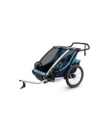 Детская коляска Thule Chariot Cross 2 (Blue-Poseidon) (TH 10202003)