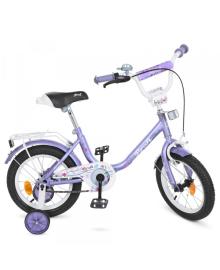 Велосипед детский PROFI 14д. Y1483, фиолетовый, Flower