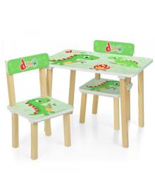 Детский столик 501-73, со стульчиками, Dino