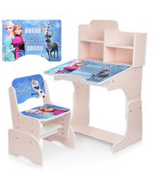 Детская парта BAMBI W 2071-69-3 Frozen, со стульчиком
