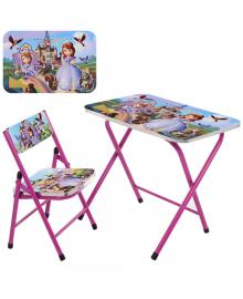 Детский столик A19-SF, София Прекрасная, со стульчиком