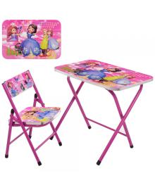 Детский столик A19-SFP, София Прекрасная, со стульчиком