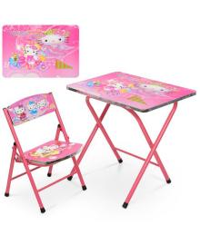 Детский столик A19-HK, Хелло Китти, со стульчиком