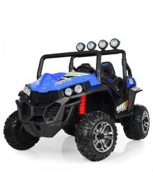 Детский электромобиль BAMBI M 3454(2) EBLR-4, двухместный, синий