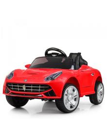 Детский электромобиль BAMBI M 3176 EBLR-3, Ferrari, мягкое сиденье