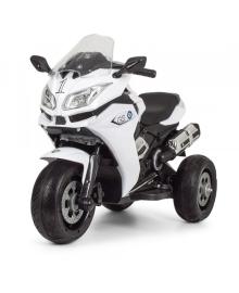 Детский электромотоцикл Bambi M 3688EL-1 White (M 3688EL-1)