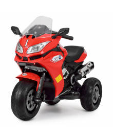 Детский электромотоцикл Bambi M 3688EL-3 Red (M 3688EL-3)