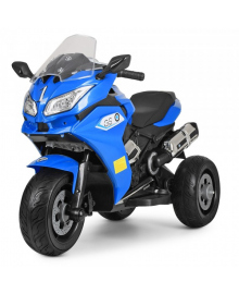 Детский электромотоцикл Bambi M 3688EL-4 Blue (M 3688EL-4)
