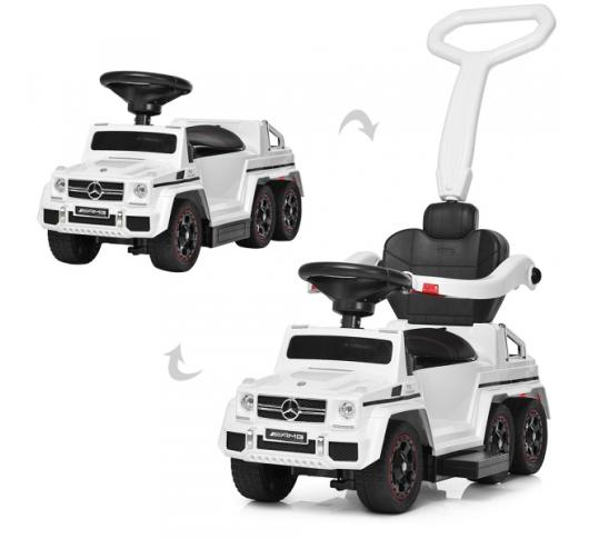 Детский электромобиль-толокар BAMBI M 3853 EL-1, Mercedes, мягкое сиденье BAMBI br / M 3853EL-1