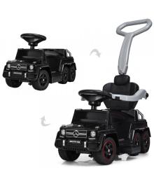 Детский электромобиль-толокар BAMBI M 3853 EL-2, Mercedes, мягкое сиденье