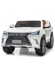 Детский электромобиль BAMBI M 3906 EBLR-1, Lexus с 4 моторами, белый