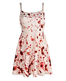 Кровавое платье S-M 3514-0029